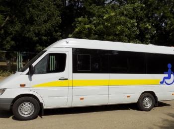 Специализированное автотранспортное средство для перевозки маломобильных категорий граждан