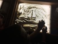 Мастер-класс по песочной анимации для детей с РАС