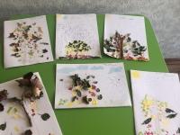 Аппликации. Выставка детских работ