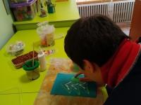 Подготовка к выставке на новогоднюю тематику