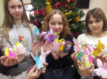 Мастер-класс по изготовлению Рождественского реквизита